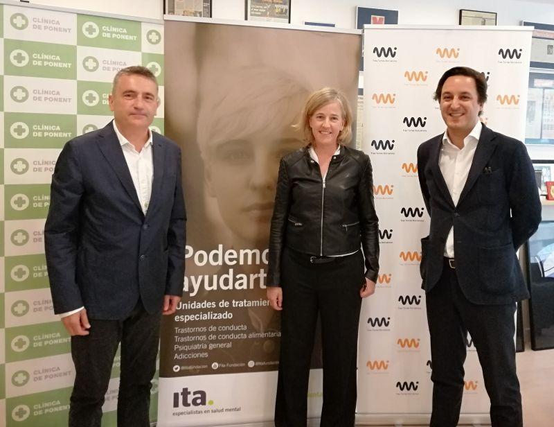 Ita colabora con Mi Tres Torres y Clínica Ponent para poner en marcha un nuevo servicio de Psiquiatría y Psicología