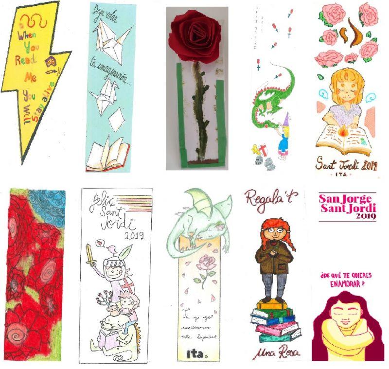 Concurso intercentros para el Día Internacional del Libro