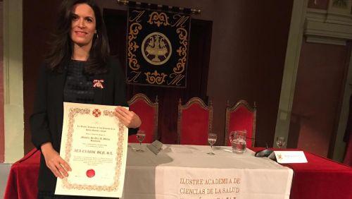 ITA galardonada con la medalla al Mérito Sanitario de la Academia de Ciencias de la Salud Ramón y Cajal