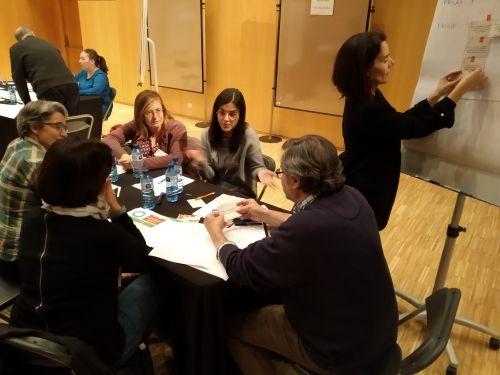 Míriam Sánchez participa en el segundo taller de la iniciativa FIT4FOOD2030