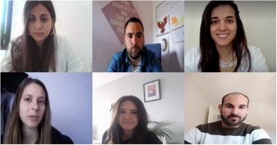 Reuniones telemáticas: una manera de seguir el día a día del Servicio de Neuropsicología de Ita
