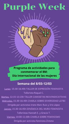 Día de la Mujer: 8M – Purple Week