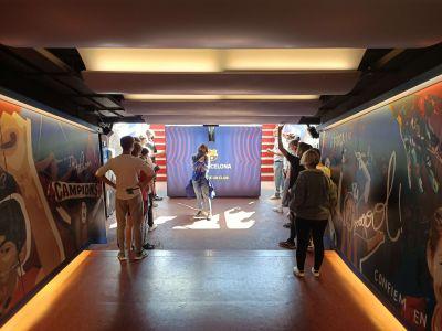 Salida al Museo del FC Barcelona