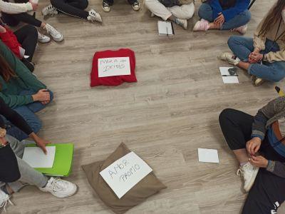 Taller de amor propio y autocuidado en ABB Málaga grupo Ita