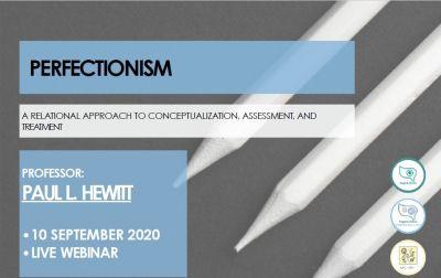 Webinar sobre perfeccionismo de la mano del Profesor Paul L.Hewitt