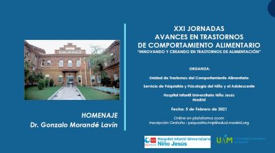 XXI Jornada TCA en el Hospital Niño Jesús de Madrid