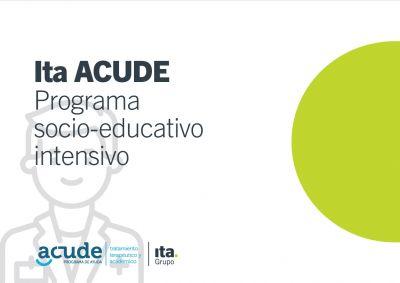 Programa socieducativo intensivo de ACUDE grupo Ita