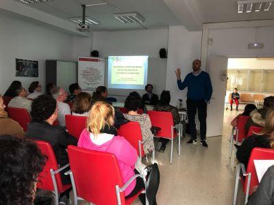 Presentación del programa de prevención en TCA en Mijas, Málaga