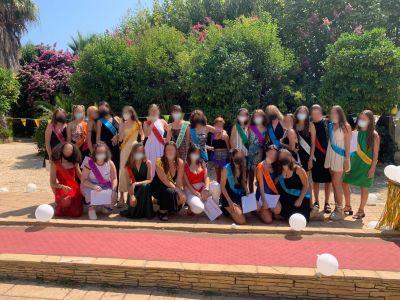 Graduación escolar en Ita Argentona
