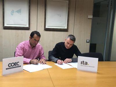 El COEC e Ita firman un acuerdo de colaboración