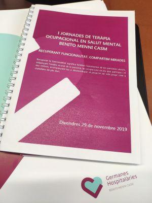 I Jornadas de Terapia Ocupacional en Salud Mental: recuperando funcionalidad, compartiendo miradas, de Benito Menni CASM