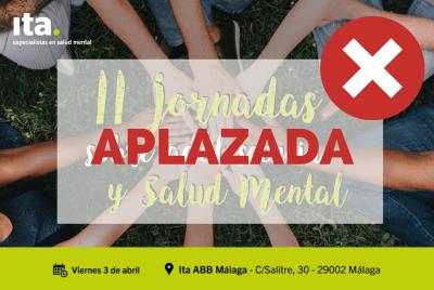 Aplazada la II Jornada de Adolescencia y Salud Mental de Ita en Málaga