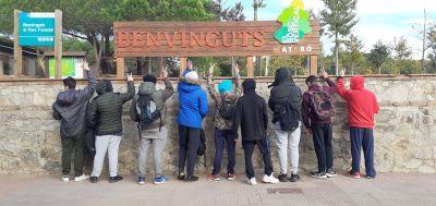 Ita Argentona TC visita el Bosc Vertical en Mataró