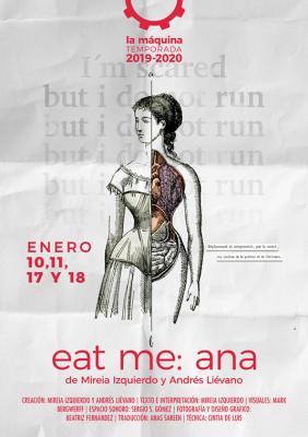 """EAT ME: ANA"" una obra de Mireia Izquierdo y Andrés Liévano"