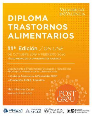 11ª Edición del Máster en Intervención Multidisciplinaria en Trastornos Límite de Personalidad, Trastornos Emocionales y Trastornos Alimentarios