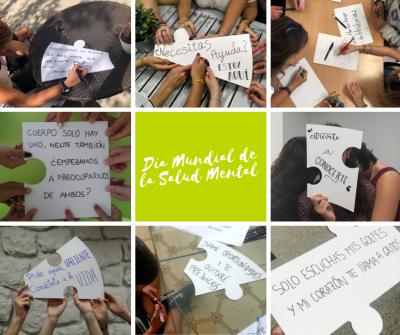 Conecta con nosotros en el Día Mundial de la Salud Mental