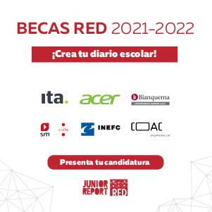 Ita colabora en la campaña de Becas RED 20021-2022 de Junior Report