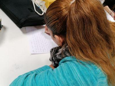 Los pacientes de Ita Avenir e Ita Argentona se unen a la iniciativa de las cartas solidarias