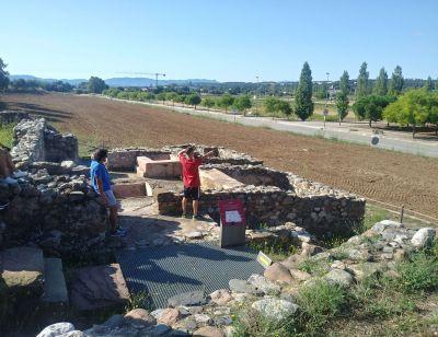 Los pacientes de Ita Adicciones visitan las ruinas romanas