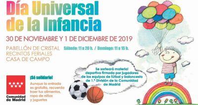 Día Universal de la Infancia en la Comunidad de Madrid