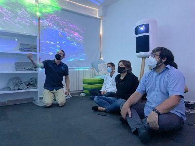 Innovación: Broomx llega a la unidad de neurodesarrollo de Ita para mostrarnos la tecnología inmersiva